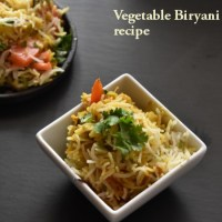 veg dum biryani , how to make vegetable biryani