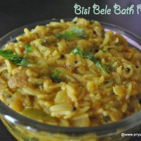 bisi bele bath recipe | how to make south indian bisi bele bhath at home