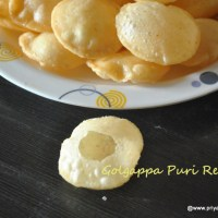 puri recipe for panipuri | how to make perfect puri for golgappa or panipuri