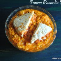 paneer pasanda recipe | how to make restaurant style panner pasanda recipe