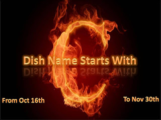 Learning-to-cook: Event Announcement – Dish Name Starts With C