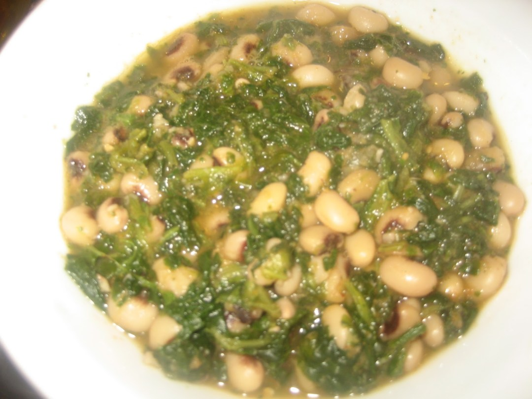 Persian Spinach and Black-Eyed Peas