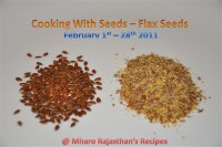 Cooking With Seeds - Flax Seeds