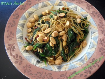 Spinach Stir8