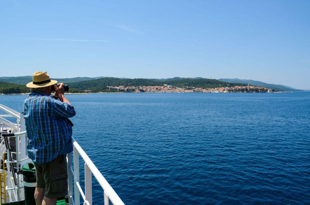 View From Korcula Ferry