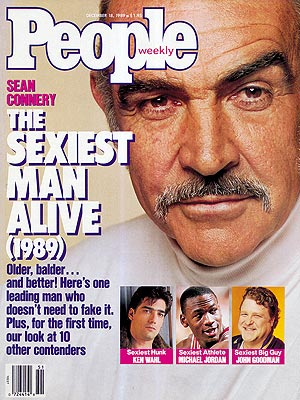 Sean Connery Sexiest Man Alive 1989