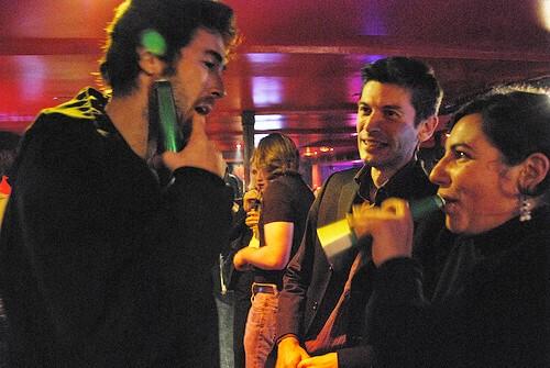 Alexandre, Mathilde et Eric