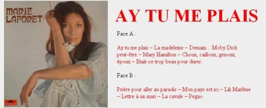 Marie Laforêt Ay tu me plais
