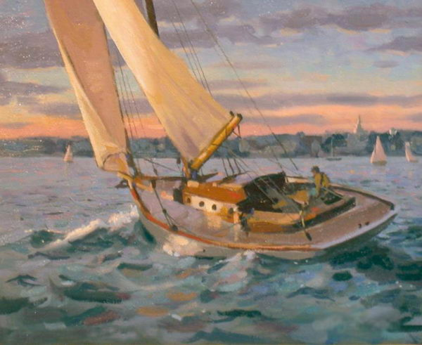 How To Enjoy This Sailboat Oil Painting Yeahart PRLog