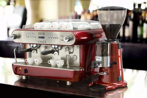 Catering coffee equipment Gaggias new Deco espresso