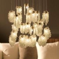Light in Art Quartz Crystal Chandelier Halogen -- Drew ...