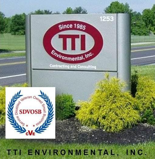 TTI Environmental Receives VA CVE Verification as Service Disabled Veteran Owned Small Business -- TTI Environmental. Inc. | PRLog