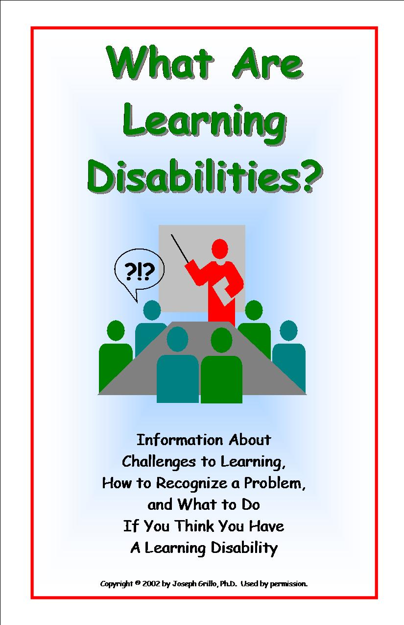 What Is Learning Disability Understanding Learning