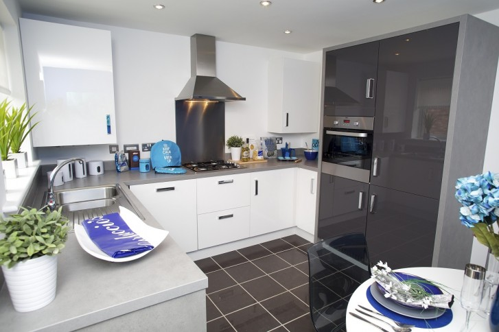 kitchen design india pictures white island with stools re-designed show homes provide inspiration for buyers ...
