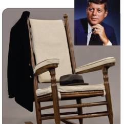 Jfk Rocking Chair Vinyl Covers Walmart Important Items Pertaining To John F. Kennedy And Other '60s Icons Will Be Auctioned Nov. 22nd ...