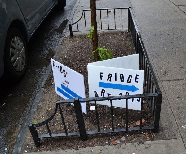 Fridge Art Fair Nyc Ice Cream Sundae Project 8-11