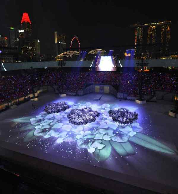 Projection Mapping On Floor