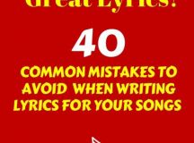 40 Most Common Lyric Writing Mistakes Revealed in New ...