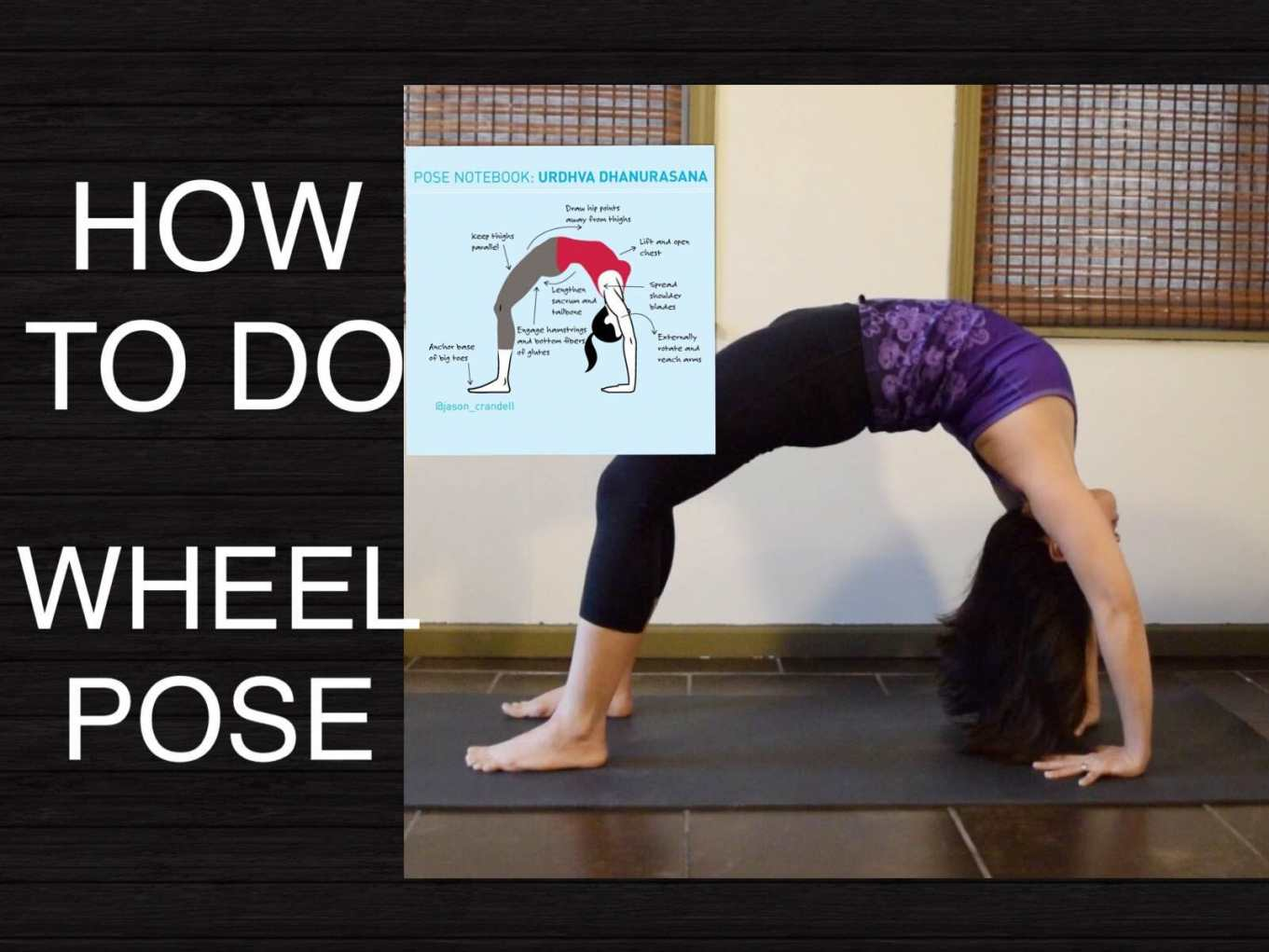 Best Yoga Sequence to Wheel Pose -- hatha yoga school | PRLog