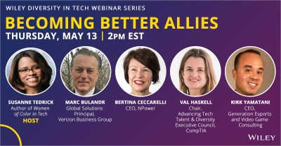 Announcing Wiley's Diversity in Tech Webinar Series -- Wiley