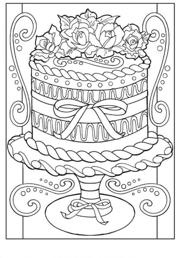 Food Coloring Pages Free, Printable, And Delicious!