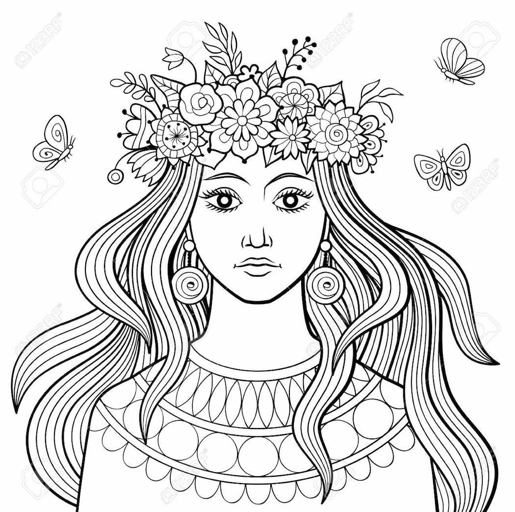 The Top 10 Hair Coloring Pages On The Internet