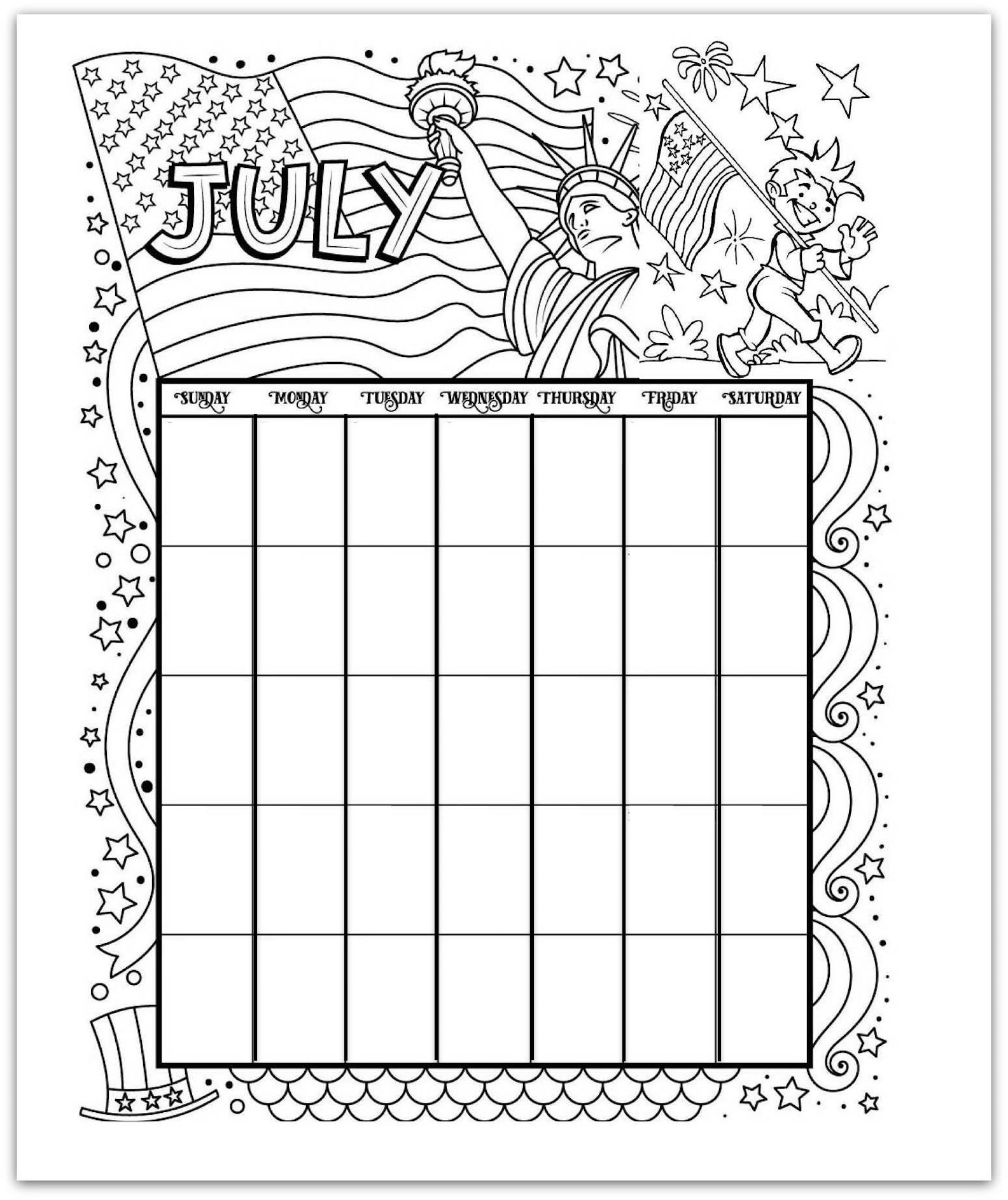 01/05/2021· blankcalendarpages.com is a united states based website that brings you simple, elegant calendar pages (mainly english). Free Printable Calendar Coloring Pages - Every Month, ANY Year