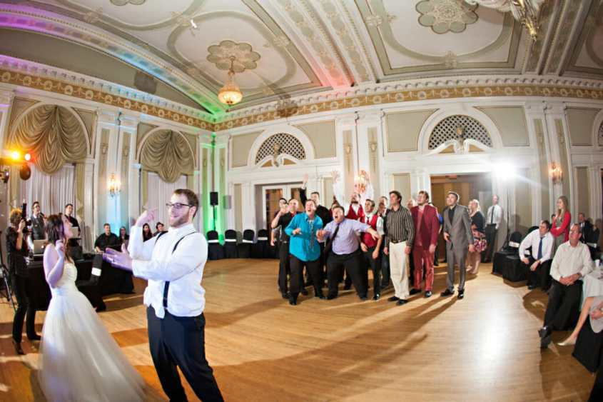 Top 25 Songs For The Garter Activity At Wedding Receptions