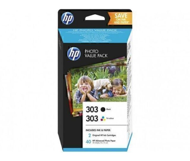 Hp 303 Black Tri Color Photo Value Pack  X 15 Cm Loading Zoom