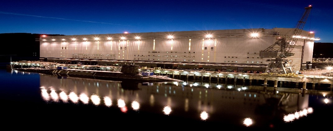 HMV Naval Base, Faslane