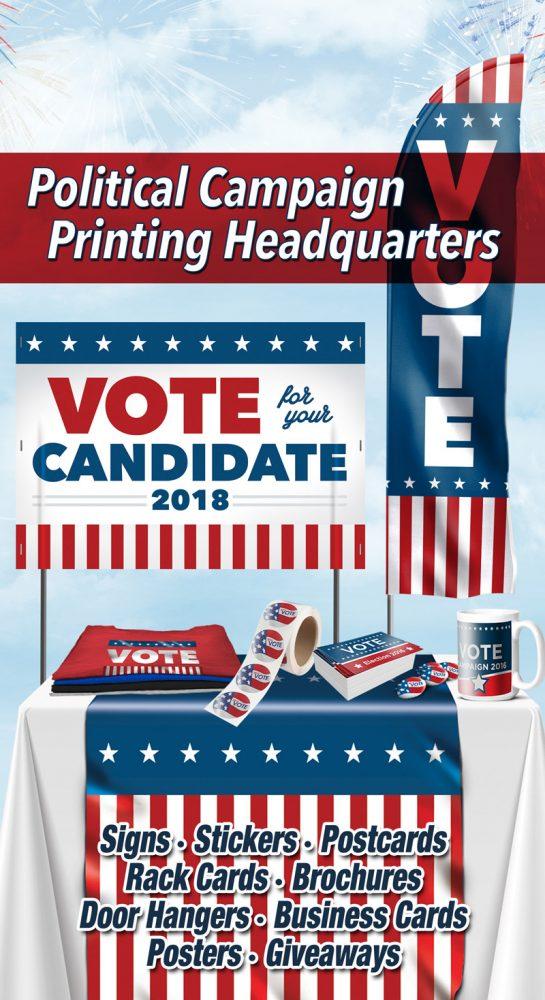 Las Vegas Political campaign printing