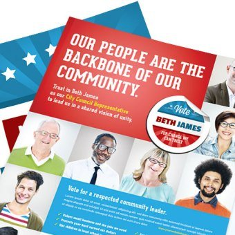 Political Campaign Brochures and Flyers