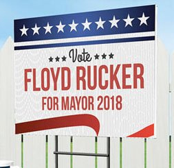 Political Campaign Yard Signs