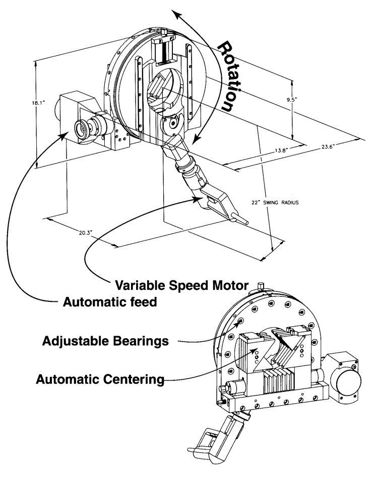 Pro-Fusion: Automatic Tube/Pipe Cut-Off Saw