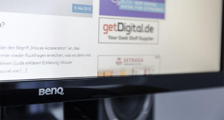 benq gl2450 test monitor
