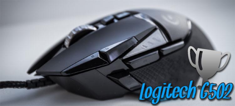 beste gaming maus logitech g502