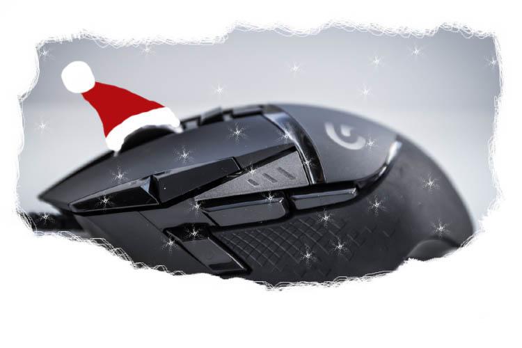 weihnachtsgeschenk gamer maus