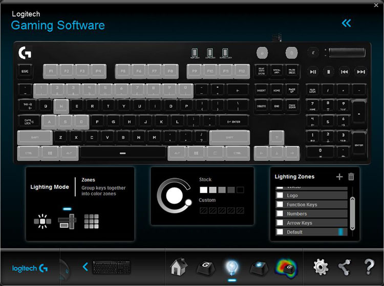 logitech g610 test software