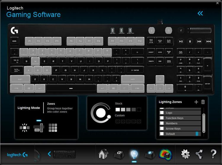 logitech g610 test software