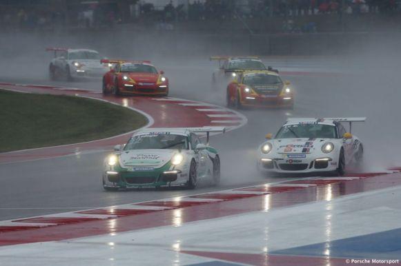 Porsche Mobil 1 Supercup Austin 2015 Come Ledogar (F) Robert Lukas (PL)