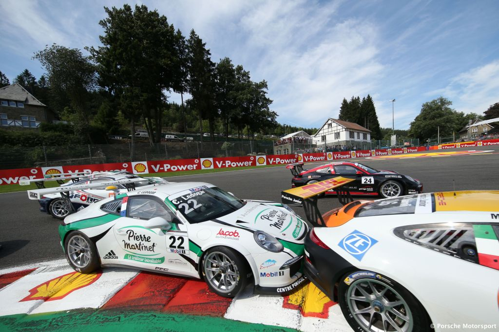 Porsche Mobil 1 Supercup Spa 2015 Come Ledogar (F)