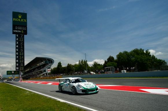 Porsche Mobil 1 Supercup Barcelona 2016 Roland Berville (F)