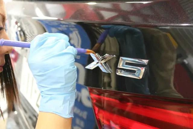BMWX5 ガラスコーティング