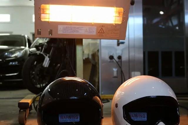 ヘルメット コーティング 千葉