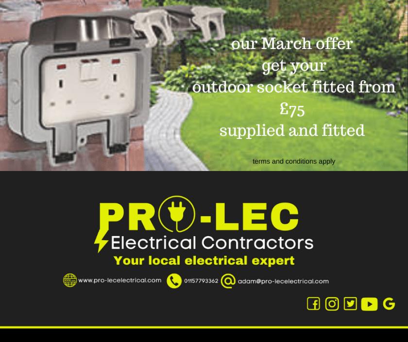 outdoor socket nottingham spring deal