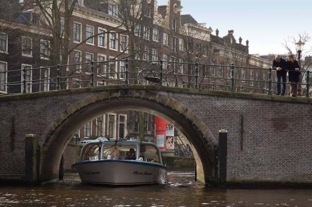 Amsterdam canals for business photography