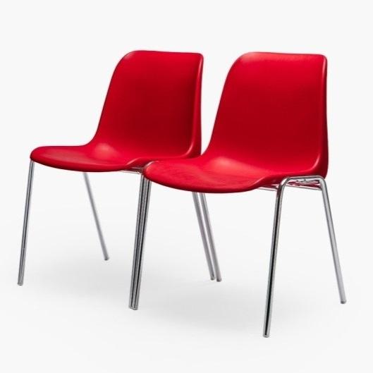 chaise coque empilable m4 nombreux
