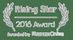 Rising Star 2016 Award