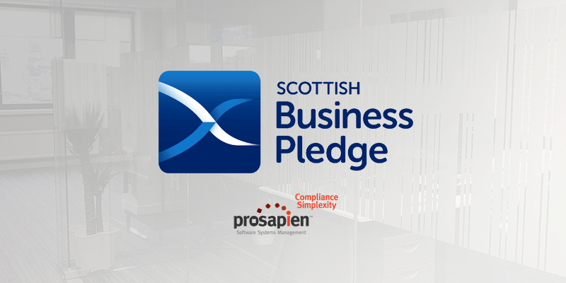Pro-Sapien Takes The Scottish Business Pledge Committing To All 9 Elements