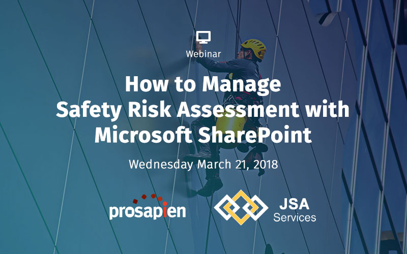 How to Manage Safety Risk Assessment with Microsoft SharePoint